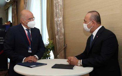 Νίκος Δένδιας: Δεν είναι δυνατόν να κρύβουμε τις διαφορές με την Τουρκία κάτω απ' το χαλί