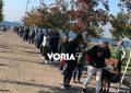 Ατελείωτες ουρές στην Θεσσαλονίκη για rapid test κορονοϊού