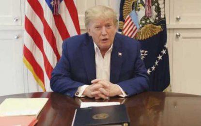 Μήνυμα Τραμπ: Μας πονάει το αποτέλεσμα, πηγαίνετε σπίτι τώρα