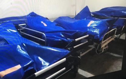 Ανατριχίλα: Σοροί σε σακούλες εκτός ψυγείων στο Νοσοκομείου του Βόλου