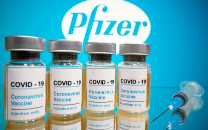 Θεαματικά αποτελέσματα για το εμβόλιο της Pfizer κατά του κορονοϊού