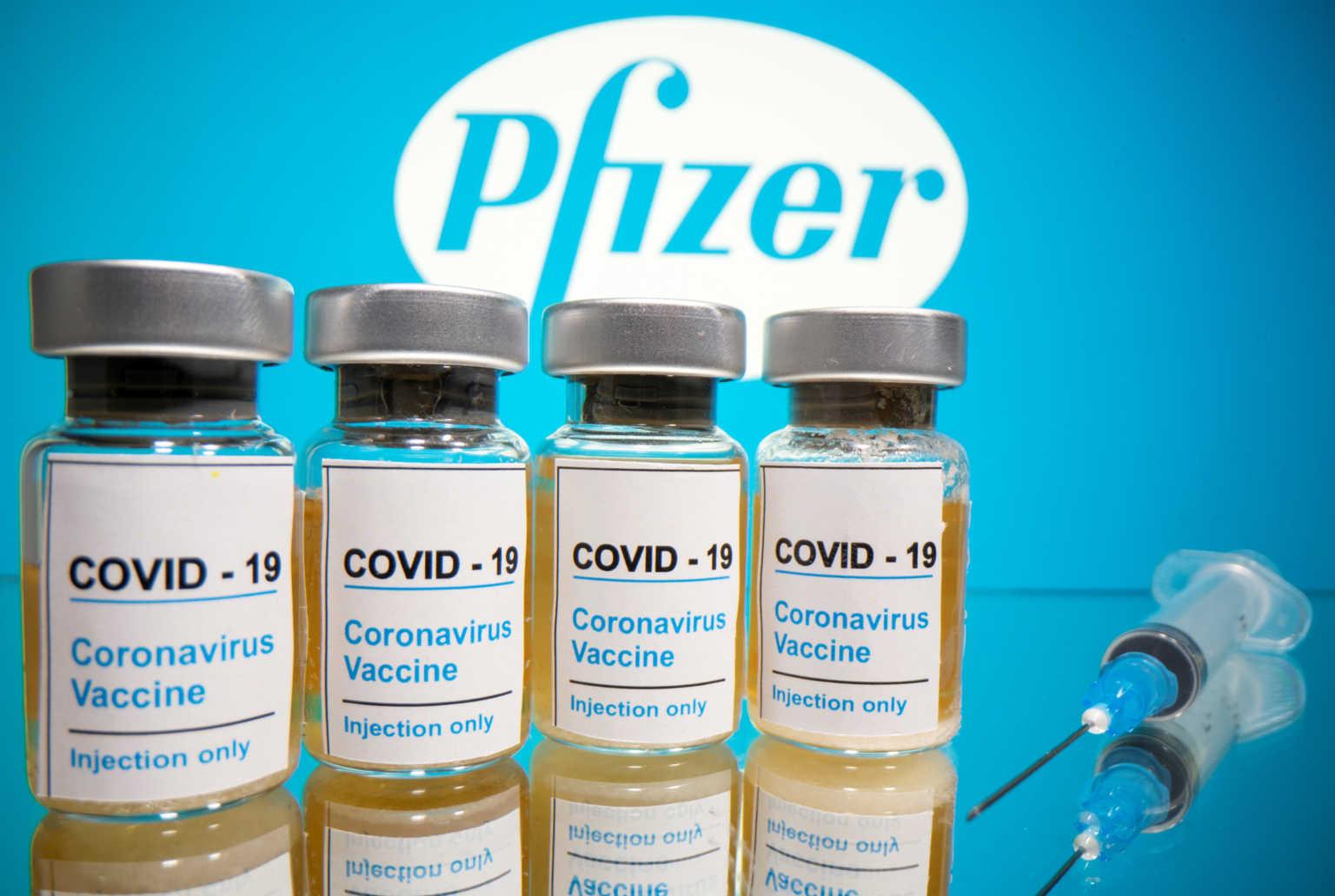 Κορωνοϊός: H EE υπέγραψε με την Pfizer για το εμβόλιο -Η εταιρεία έστειλε το αίτημα αδειοδότησης στις ΗΠΑ