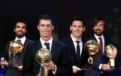 Οι κορυφαίοι του αιώνα στο Globe Soccer Awards