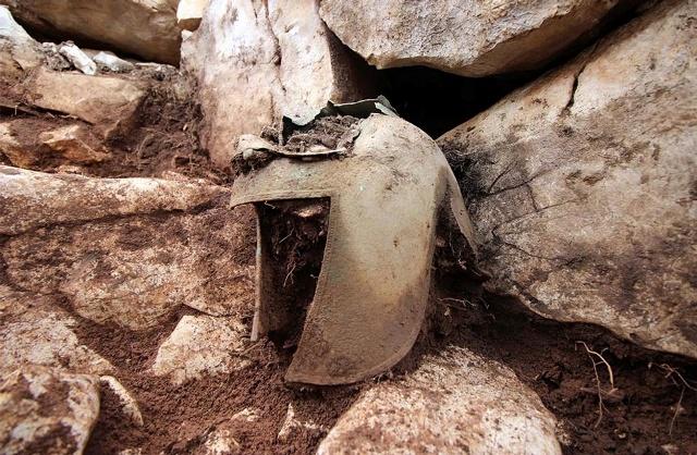 Κράνος αρχαίου Έλληνα πολεμιστή «έκρυβε» η γη της Κροατίας(Εικόνα)