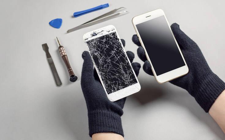 Οθόνες κινητών που επισκευάζονται μόνες τους έφτιαξαν ερευνητές