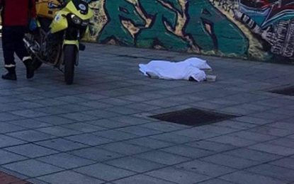 Βουτιά θανάτου για 66χρονο στο κέντρο της Θεσσαλονίκης (Εικόνες)