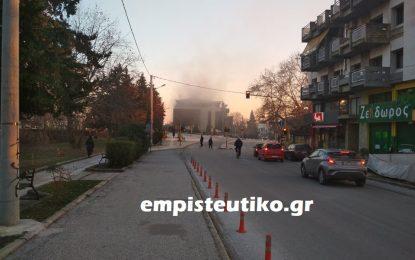 Σέρρες – ΤΩΡΑ: Φωτιά στο Philippos Xenia Hotel (Εικόνες)