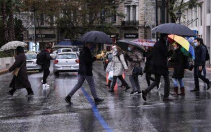 Καιρός: Κακοκαιρία με βροχές, χιόνια και πτώση της θερμοκρασίας την Κυριακή