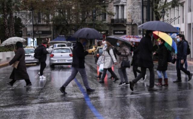 Βροχερό το σκηνικό του καιρού την 1η Μαρτίου -Ασθενείς χιονοπτώσεις στα ορεινά