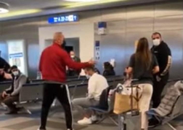 Ο Κωστόπουλος γύρισε από το Ντουμπάι – Τα νεύρα και οι φωνές για το τεστ στο αεροδρόμιο (Βίντεο)