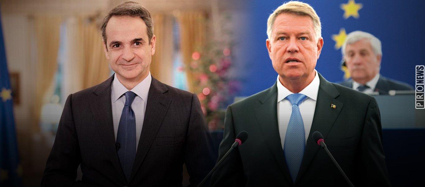 Επίθεση προέδρου Ρουμανίας σε Κ.Μητσοτάκη για πιστοποιητικό εμβολιασμού: «Θέλει να χωρίσει τους Ευρωπαίους πολίτες»