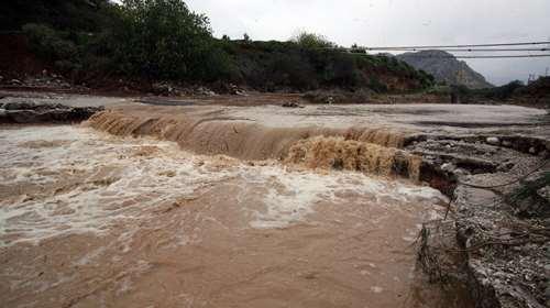 Ποτάμια οι δρόμοι στο Δήμο Βισαλτίας Σερρών