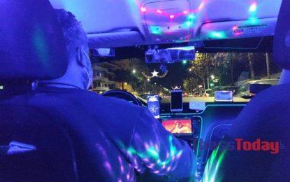 Θεσσαλονίκη – Κορονοϊός: Ταξί… club με ποτό και δυνατή μουσική – Οι εικόνες και το αντίτιμο της διαδρομής(Βίντεο)