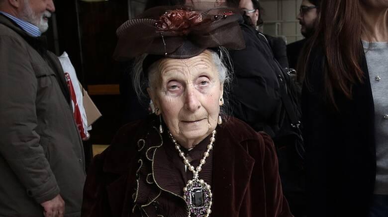 Πέθανε σε ηλικία 87 ετών η ηθοποιός Τιτίκα Σαριγκούλη.