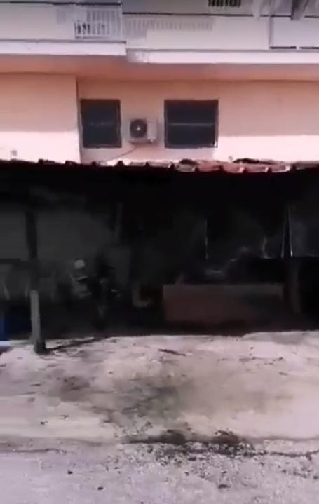 Σέρρες: Εμπρησμός και έκρηξη σε βενζινάδικο της πόλης των Σερρών (Βίντεο)