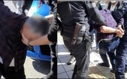 Επεισόδιο μεταξύ αστυνομικού και πολίτη για την μάσκα: «Αν πεθάνει θα σας γ@μ!@ω…»(Βίντεο)