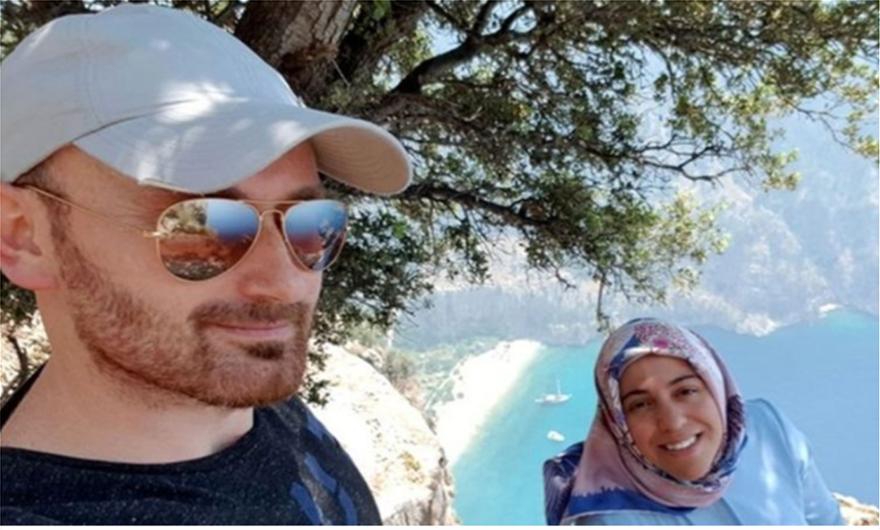 Τούρκος κατηγορείται ότι έσπρωξε από γκρεμό την έγκυο γυναίκα του – Η «ρομαντική» selfie πριν την πτώση