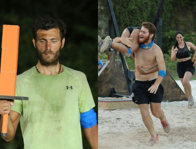 Survivor 4: Κινδυνεύει να αποχωρήσει Νίκος Μπάρτζης ή Τζέιμς Καφετζής