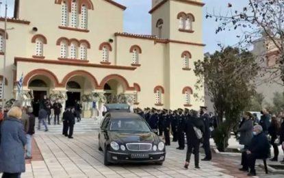 Αλεξανδρούπολη – Ράγισαν καρδιές στην κηδεία του 46χρονου πυροσβέστη