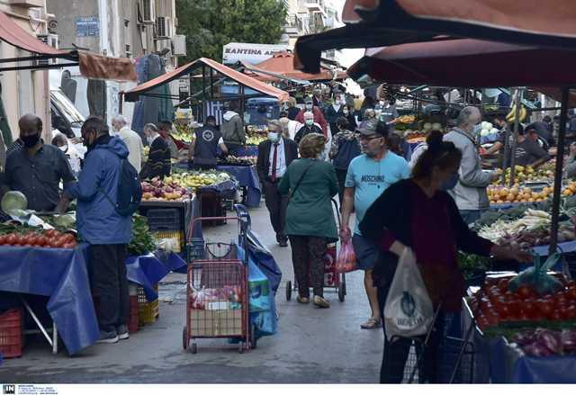 Ανοικτές οι λαϊκές αγορές σε Αθήνα και Θεσσαλονίκη το επόμενο Σάββατο(Βίντεο)