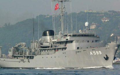 Αποχώρησε το «Τσεσμέ» από το Αιγαίο – Σε αναμονή του τουρκικού στόλου για την άσκηση «Γαλάζια Πατρίδα»