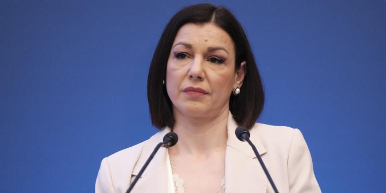 Νέα κυβερνητική εκπρόσωπος η Αριστοτελία Πελώνη -Το παρασκήνιο της παραίτησης Ταραντίλη