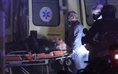 Νέα Σμύρνη: Στο «401» ο αστυνομικός που τραυματίστηκε στο κεφάλι -Δεν κινδυνεύει η ζωή του