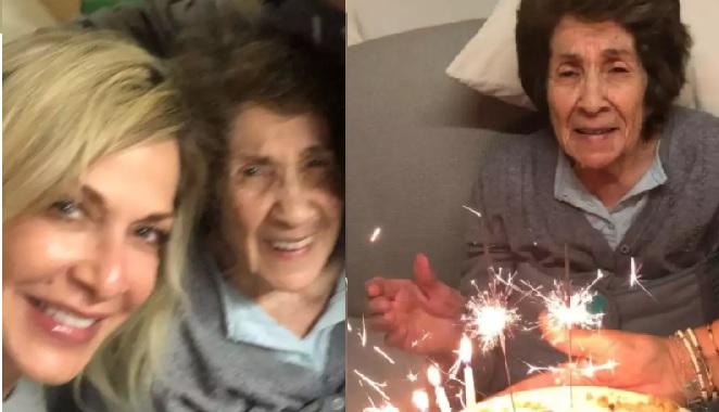 Άννα Βίσση: Η μητέρα της έγινε 89 και το γιόρτασαν με ένα οικογενειακό πάρτι γενεθλίων
