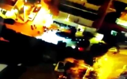 Επεισόδια στη Νέα Σμύρνη: Βίντεο από drone με τις μολότοφ και το κυνηγητό