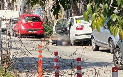 Εικόνα που σοκάρει στη Θεσσαλονίκη – Νεκρός δίπλα στο αυτοκίνητό του