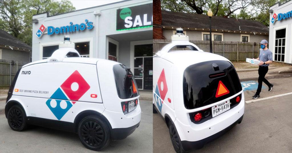 Έρχεται το τέλος των οδηγών ντελίβερι; Η Domino's αρχίζει τις διανομές πίτσας με ρομπότ