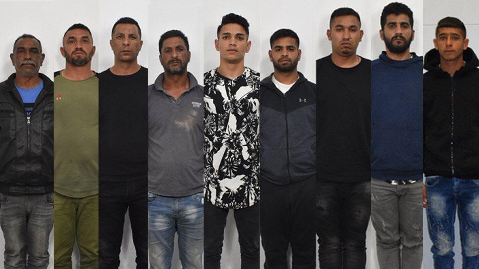ΕΛΑΣ: Αυτοί είναι οι 9 κατηγορούμενοι για κλοπές και ληστείες σε σπίτια στην Ανατολική Αττική