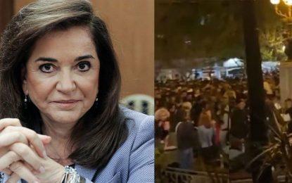 Μπακογιάννη: «Yπάρχουν οικονομικά συμφέροντα πίσω από τα κορωνοπάρτι»