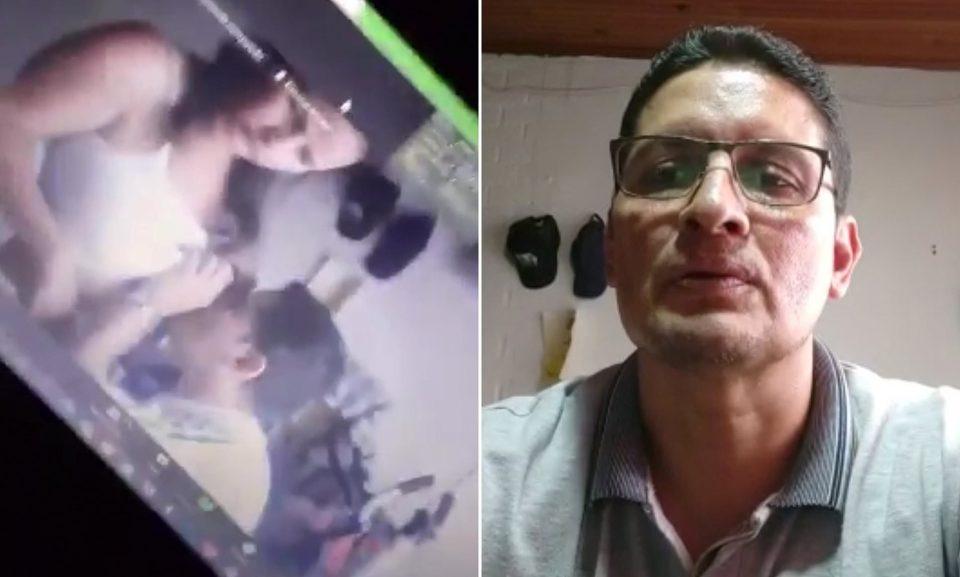 Καθηγητής… ρεζιλεύτηκε online: Τελείωσε το μάθημα και φίλησε το στήθος της γυναίκας του