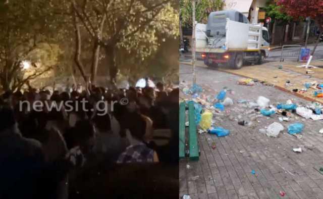 Κυψέλη: Η επόμενη μέρα του ασύλληπτου κορονοπάρτι με DJ(Βίντεο)