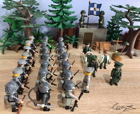 Σέρρες: Το Ρούπελ έγινε Playmobil και εντυπωσιάζει (Εικόνες)