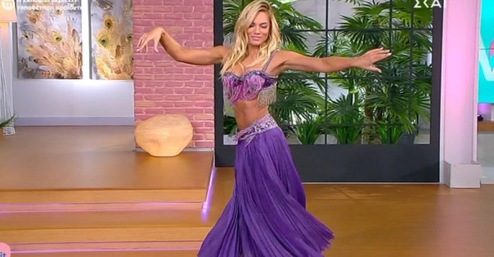 Love It: Ο απίστευτος χορός της κοιλιάς της Ιωάννας Μαλέσκου στον «αέρα» της εκπομπής