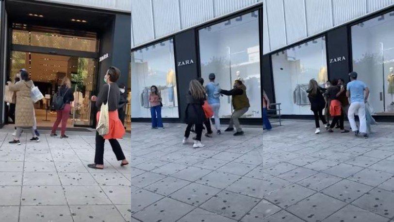 Της έστησε καρτέρι έξω από τα Zara στη Γλυφάδα και της επιτέθηκε (Βίντεο)