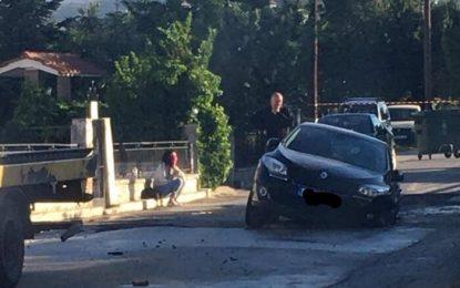 Σέρρες: Αυτοκίνητο έπεσε σε λακκούβα έργων