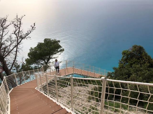 Λευκάδα: Η νέα διαδρομή για τους Εγκρεμνούς