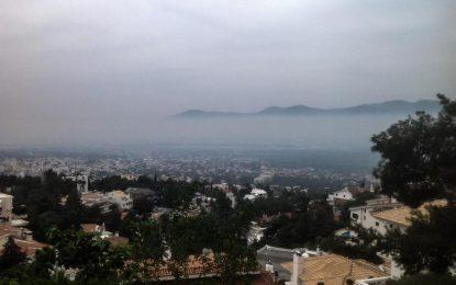 Απειλή για την υγεία το νέφος τσίκνας που σκέπασε την Αθήνα